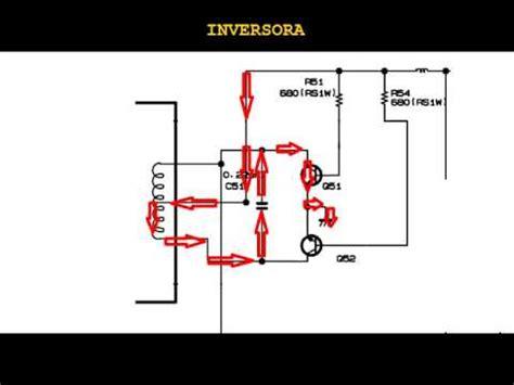 c 243 mo funciona un circuito inversor en lcd i
