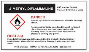 chemical hazard labels do yours look like this yet With ghs label format