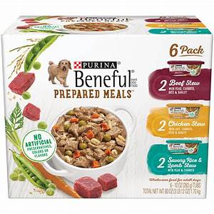 Beneful preprdmls 6c60oz nt cp for Prepared dog food