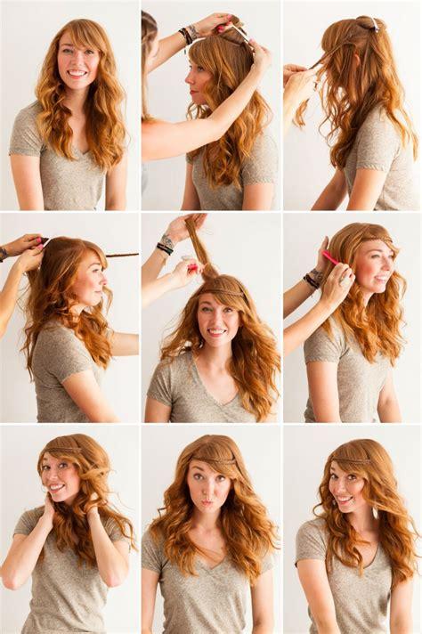 pretty headband hairstyle tutorials  modish