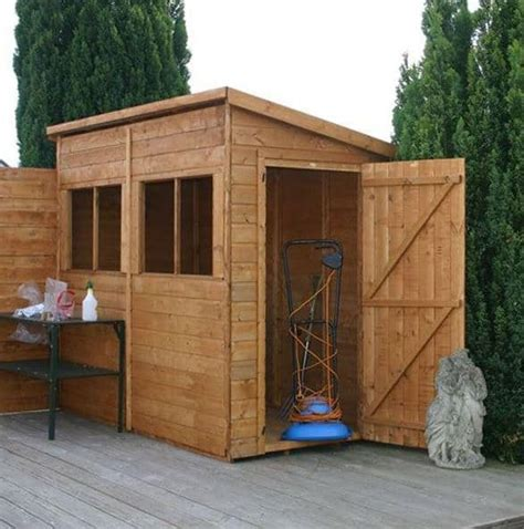 8 By 4 Shed by 8 X 4 Waltons Tongue And Groove Pent Garden Shed What Shed