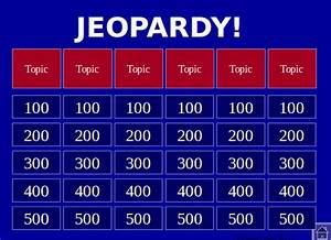 jeopardy template powerpoint madinbelgrade With powerpoint game templates for teachers free