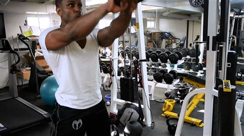 ripped kettlebells dumbbells