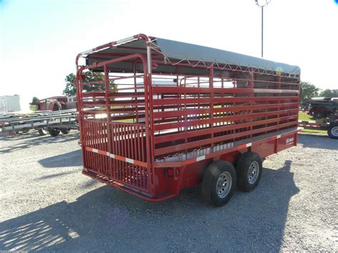 Browse our inventory of new and used live floor trailers for sale near you at truckpaper.com. Livestock Trailer - 2020 W-W Trailer 6x16 Gooseneck Stock ...