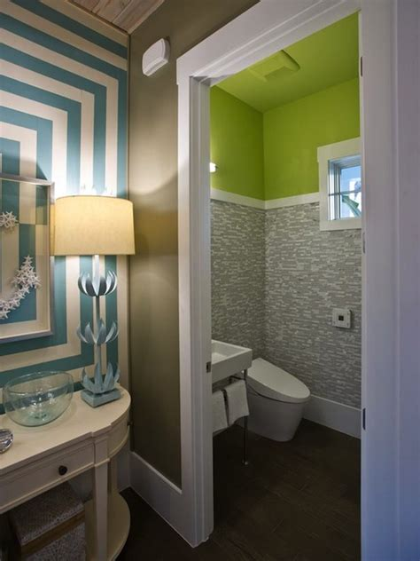 neon green paint colors contemporary bathroom