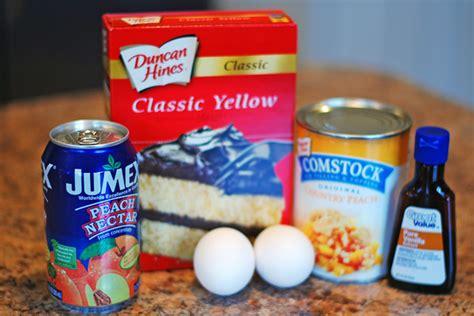 peach pound cake  peach nectar glaze eat  home