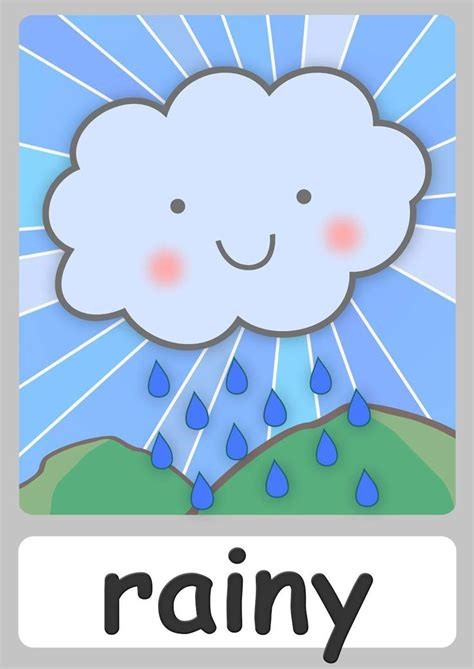 free weather flashcards for kindergarten teach weather 601 | 69214d0cada66935f13dbda996ec765b weather charts weather chart for toddlers