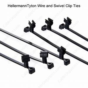 Swivel Clip Cable Ties From Hellermanntyton U2122