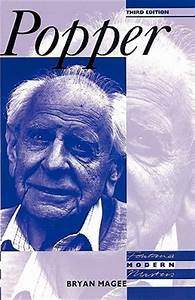 Karl Popper by Bryan Magee — Reviews, Discussion ...