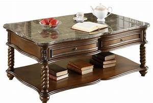 homelegance lockwood 3 piece rectangular coffee table set With 3 piece marble coffee table set