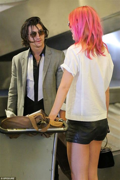 Botanical Gardens Halloween by Alex Turner S Pink Haired Girlfriend Taylor Bagley Shows