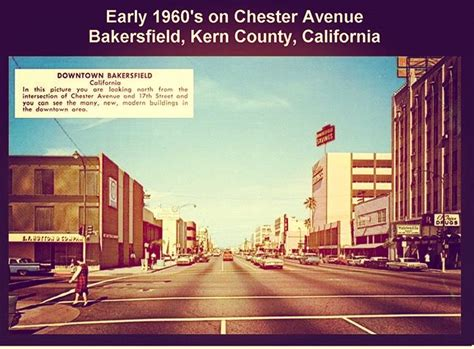 Postcard View Of Chester Avenue In The Early 1960s