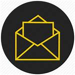 Resume Icon Letter Message Vectorified