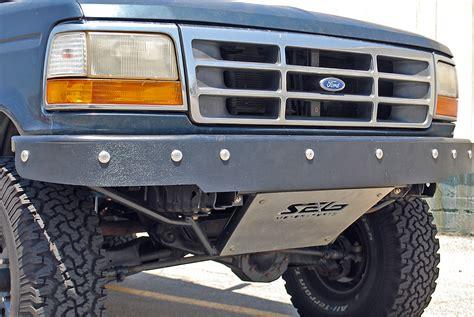 prerunner ranger bumper prerunner front bumper with abs valance ford bronco