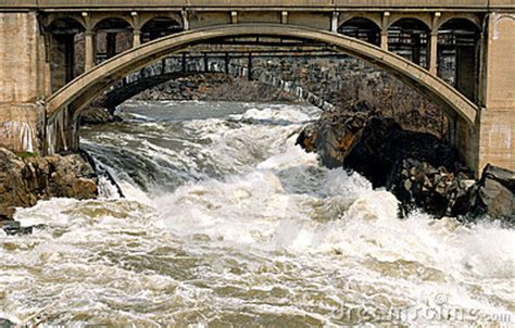 bridge  troubled waters royalty  stock images