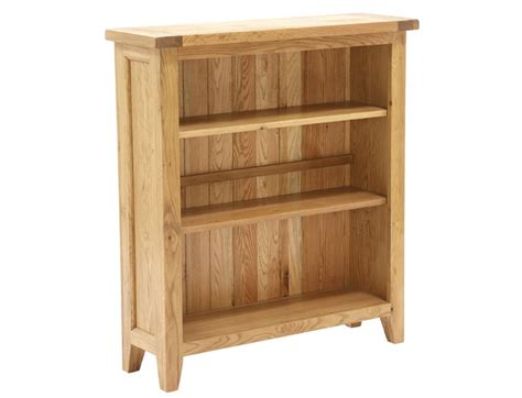 Small Rustic Bookcase by Vancouver Wooden Rustic Small Low Oak Bookcase With