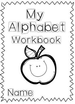 alphabet workbook  simply savvy teacher teachers