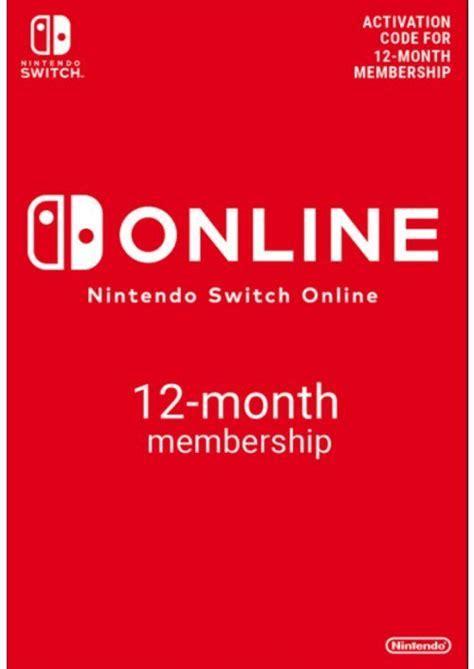 Nintendo Switch Online 12 Month Membership Switch £16.49