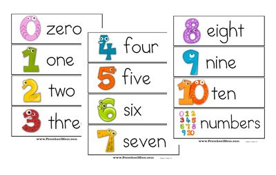 time card template for numbers number words chart printable printable 360 degree