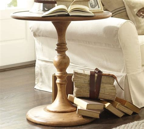 pottery barn accent table ls newberry pedestal table pottery barn traditional