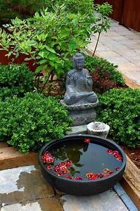Idée Jardin Japonais : le mini jardin japonais s r nit et style exotique ~ Nature-et-papiers.com Idées de Décoration