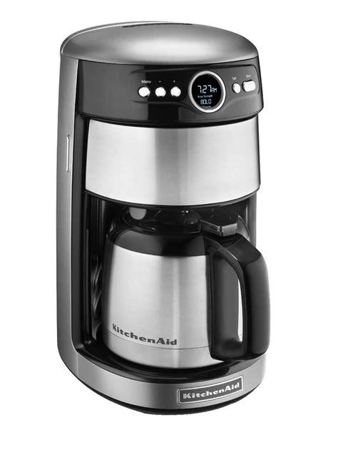 kitchenaid kcmcu  cup thermal coffee maker contour