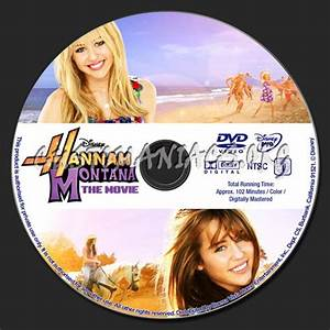 Hannah Montana The Movie dvd label - DVD Covers & Labels ...