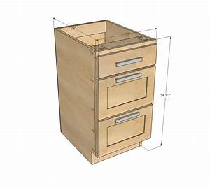 """Ana White 18"""" Kitchen Cabinet Drawer Base - DIY Projects"""