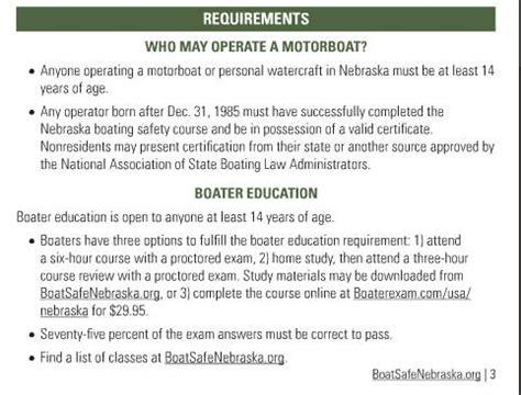 Nebraska Boating Safety Course by Boat Safe