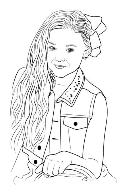 attractive design jojo siwa coloring pages sheets