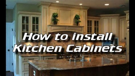 Permalink to Tips For Installing Kitchen Cabinets