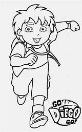 Coloring Pages Diego Printable sketch template