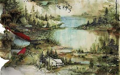 Album Bon Iver Background Covers Wallpapers Rock