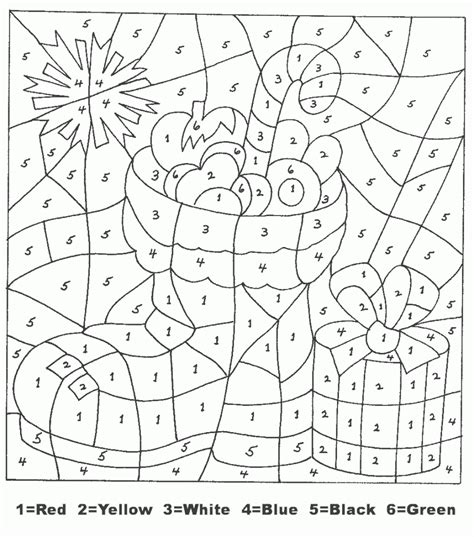 Coloring With Number by Color By Numbers Best Coloring Pages For