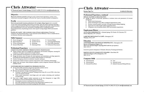 Functional Resume by Functional Resume Template General Resume Formats