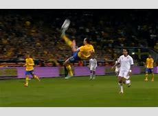 Ten famous bicycle kick goals Zlatan Ibrahimovic