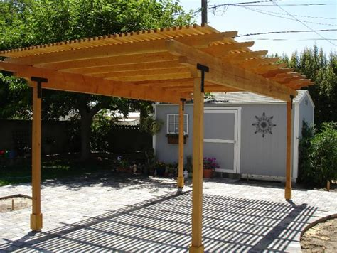 wooden shade structures diy fabric patio cover