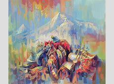Expression Of Armenia Painting by Meruzhan Khachatryan