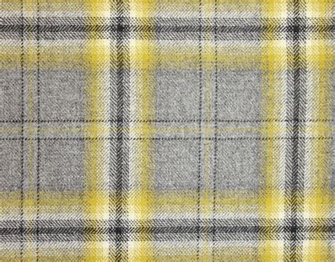 morlich wool fabric  grey chartreuse yellow  black