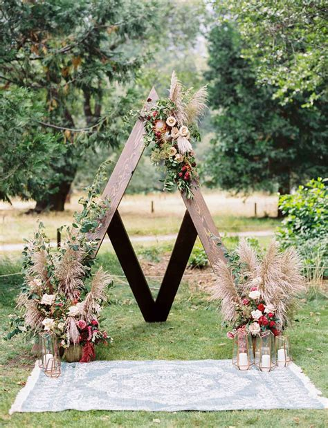 When A Wedding Planner Gets Married Bohemian Inspired