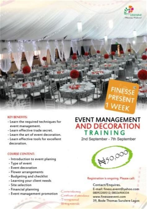 improve   management decorating skills