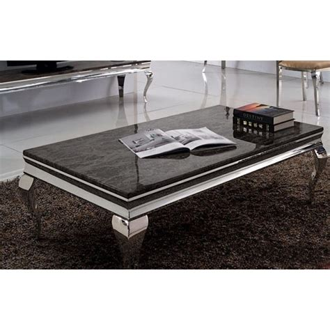 canapé cuir 3 places relax table basse baroque duchesse en marbre et inox pop design fr