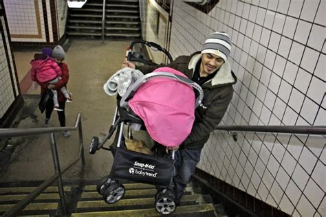 strollers pose safety problems  philly families riding