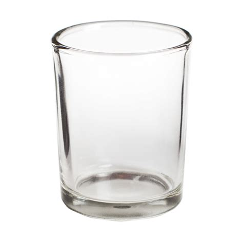 votive candle holder clear glass votive candle holder