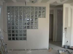 Douche Mur Verre : stunning brique de verre chambre images ~ Zukunftsfamilie.com Idées de Décoration