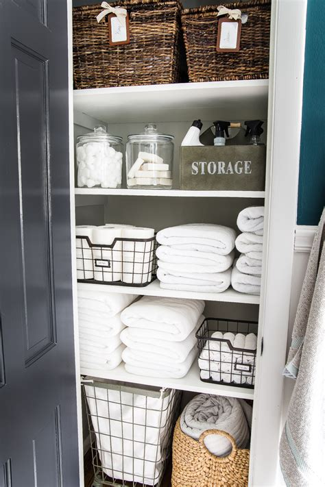 Linen Closet Organization Makeover  Bless'er House