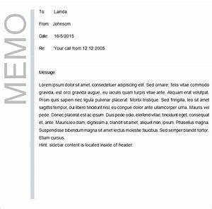 business memo template 18 free word pdf documents With template for writing a memo