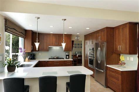 g shaped kitchen design 70 coole bilder k 252 che mit tresen archzine net 3688