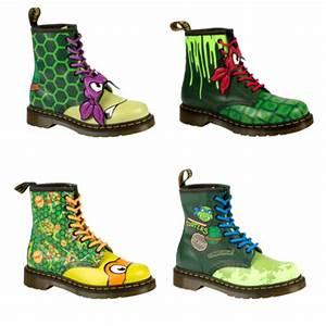 Chaussure Homme Doc Martens : des chaussures dr martens aux couleurs des tortues ninja look mode ~ Melissatoandfro.com Idées de Décoration