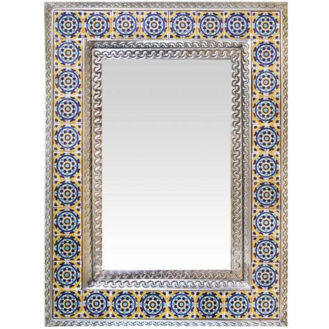 rustic kitchen canisters talavera tile mirrors collection talavera tile mirror